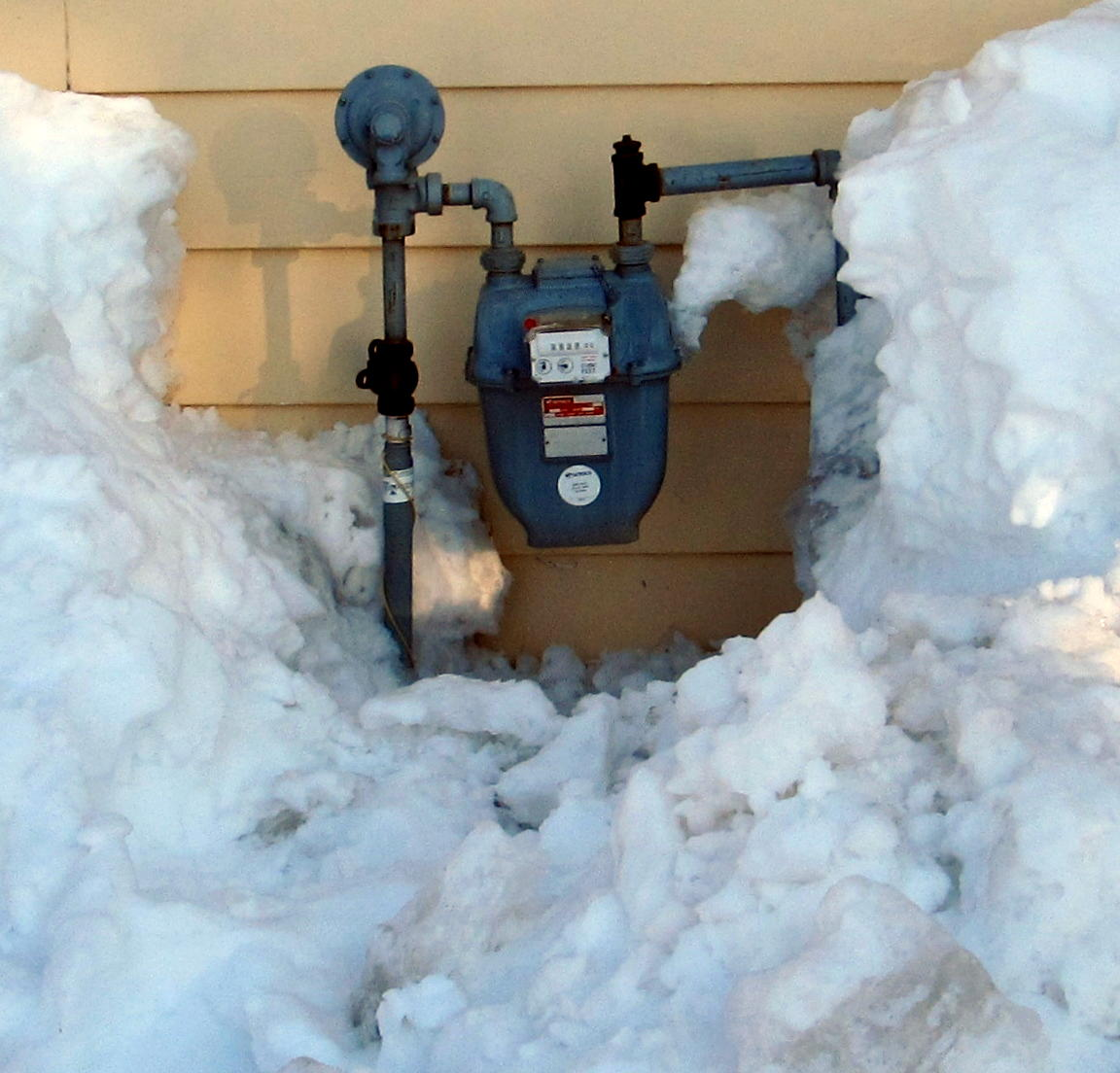 Snow Covered Meter
